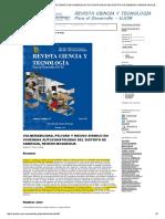 VULNERABILIDAD, PELIGRO Y RIESGO SÍSMICO EN VIVIENDAS AUTOCONSTRUIDAS DEL DISTRITO DE SAMEGUA, REGIÓN MOQUEGUA _ Flores Ortega _ REVISTA CIENCIA Y TECNOLOGÍA - Para el Desarrollo - UJC.pdf
