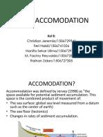 Basin Accomodation