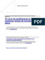 Paginas Web Constitucional
