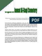 Jannat Al-Baqi Cemetery