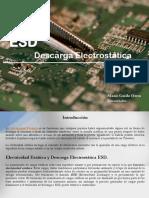 ESD Descarga Electrostatica