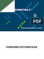 FUNCIONES_ESTADISTICAS