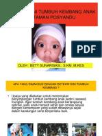 Deteksi Dini Tumbuh Kembang Anak Bhn Refreshing Kader Tapos