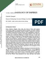 Sinopoli Archaeology of Empires