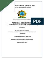 electroquimica ejercicios