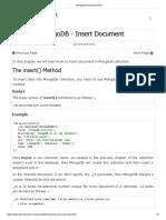 MongoDB Insert Document.pdf