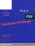 Bayle Political Writings.pdf