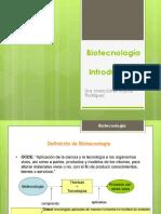 Biotecnología Unidad 1