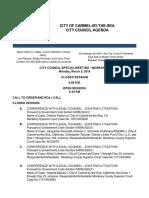 Agenda 03-05-18