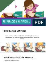 Respiración Artificial