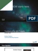 BRKSEC-3020 Troubleshooting ASA Firewalls