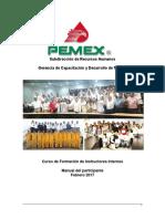 Manual Formación de Instructores Internos Pemex