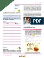 Cuaderno de Trabajo Acidos y Bases