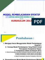 model-pembelajaran-efektif-untuk-pencapaian-kompetensi-dasar-menurut-kurikulum-2013.pptx