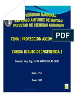 PROYECCION AXIOMETRICA