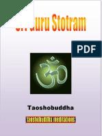 Sri Guru Stotram