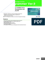 Detail Fitur CX Programmer 9 PLC Omron