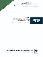 Spln 43-5-2-1995 Kabel Pilin Udara Berisolasi Xlpe Dan Berse