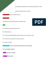 VCE Economics Unit 3/4 Summary Notes AOS 1 and 2