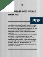Esther Diaz (). La filosofía de Michael Foucault
