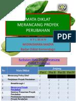 Merancang Proyek Perubahan PIM IV