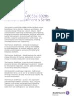 8078s 8068s 8058s 8028s Premium Deskphone s Series Datasheet En