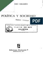 Gramsci Antonio_Politica y Sociedad, Pag 191-201