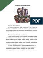 Elementos de Economia Urbana