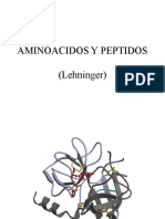 Aminoacidos y Peptidos Lehninger