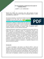 Ignimbritas de Líquido Mixto Peralcalino y Metaluminoso de La Región de Guadalajara