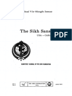 The Sikh Sansar USA-Canada Vol. 1 No. 2 June 1972 (Bhai Vir Singh Issue)