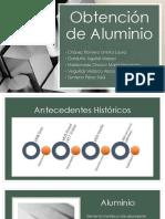 Obtención de Aluminio