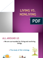 Living vs Nonliving