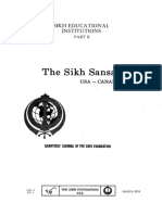 The Sikh Sansar USA-Canada Vol. 3 No. 1 March 1974 (Sikh Educational Institutions Part II)