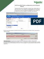 Configurando IP en Twido