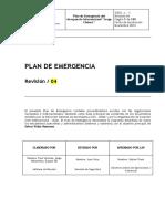 Plan de Emergencia Rev. 04