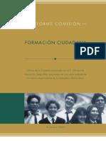 Informe Comisión Formación Ciudadana