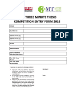 2. Competition Entry Form