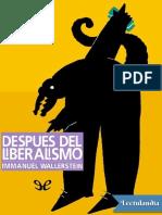 Despues Del Liberalismo - Immanuel Wallerstein