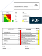 Risk Assessment -House and Building