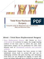 Total Knee Replacement Surgery Cost in India- Complete guide for Estimated cost, Complication, Risk and Recovery time.