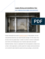 Grease Interceptor Sizing and Installation Tips-New York Engineers