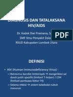 Diagnosis Dan Tatalaksana Hiv