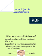 Chap 7 Neural Networks