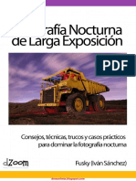Iván Sánchez - Fotografía Nocturna de Larga Exposición