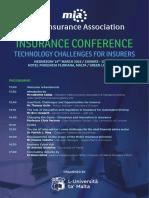 MIA Conference - brochure + registration form