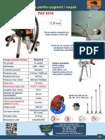 PAZ6318 Pompa Airless Pentru Zugravit Vopsit Bisonte