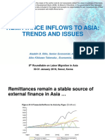 Remittance Inflows to Asia