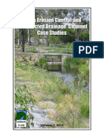 Creek Erosion Control and Constructed Drainage Channel Case Studies