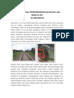 Asal Mula Jalan Rel Kereta API Di Indonesia
